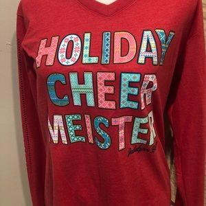 Jadelynn Brooks Christmas shirt small